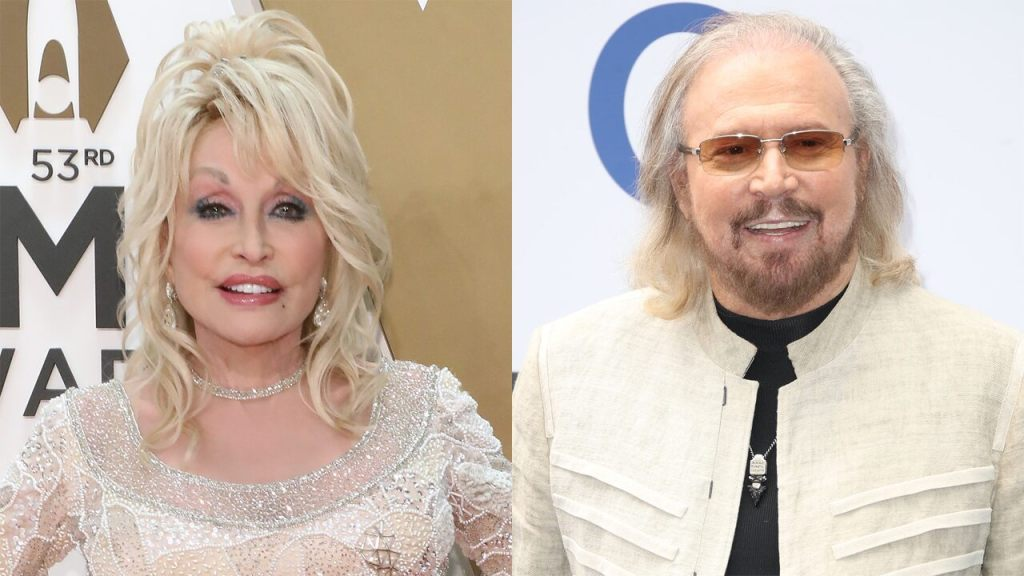 Dolly Parton, Bee Gees' Barry Gibb team up for duet version of 'Words'