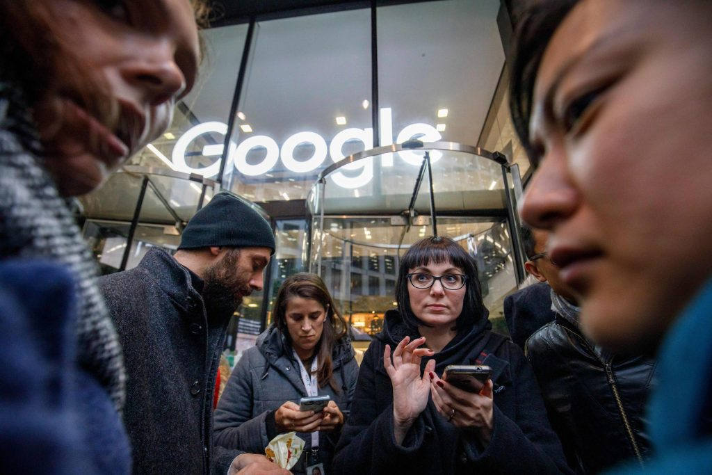 Google workers' union make Monday's announcement significant
