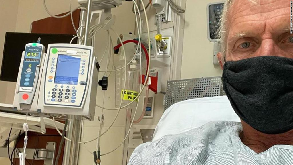 Greg Norman: Golf great delivers graphic account of dealing with Covid-19 symptoms after testing positive for coronavirus