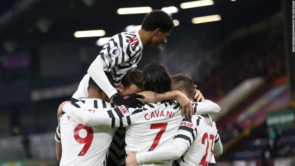 Manchester United moves top, but 'no hugs' in future as EPL grapples with Covid-19 spike