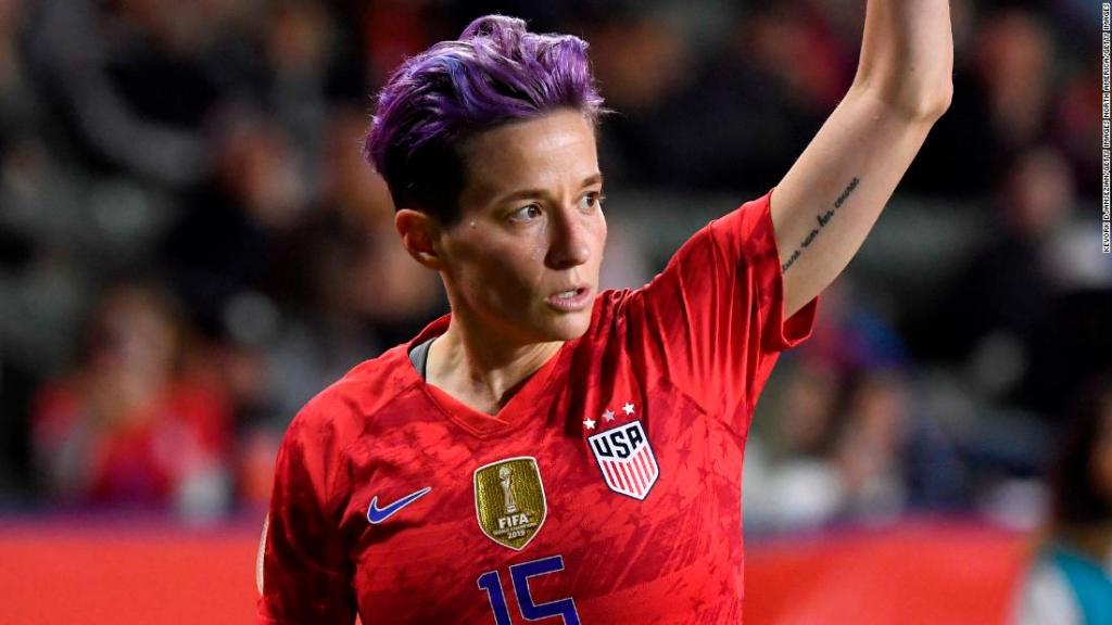Megan Rapinoe condemns US Capitol riots as 'White supremacy mob'