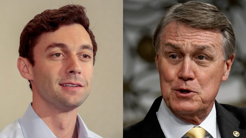Perdue hits Ossoff campaign for accepting hundreds of thousands of dollars from Big Tech execs