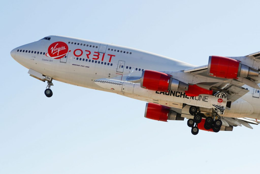 Richard Branson's Virgin Orbit blasts satellites into space from 747