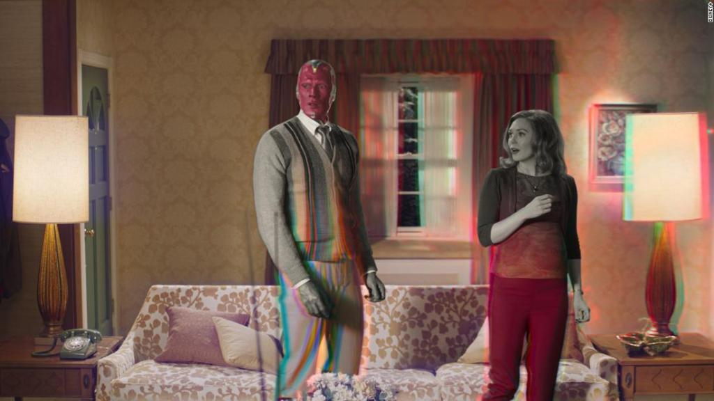 'WandaVision' review: Elizabeth Olsen and Paul Bettany add power to Disney+