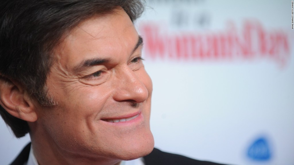 Dr. Oz saved a man who collapsed at a New York City-area airport