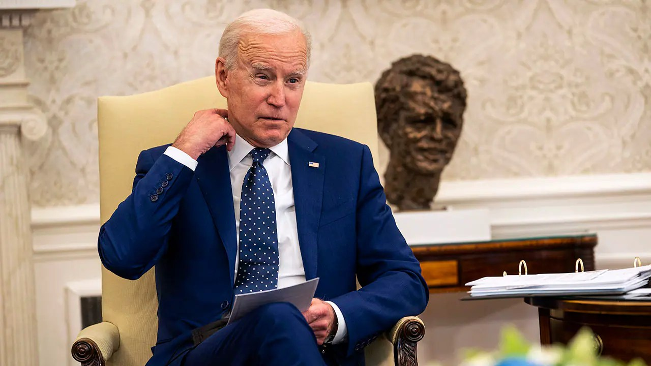 Biden ignores rioting that marred summer of George Floyd protests after Chauvin conviction