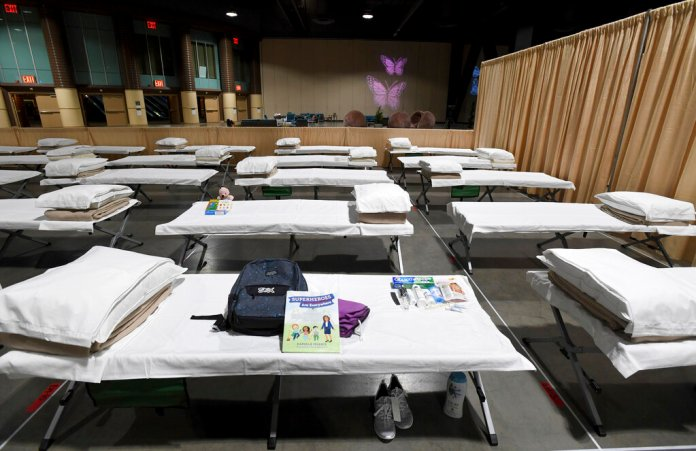 Biden administration holds migrant children in mass shelters by the tens of thousands with little oversight
