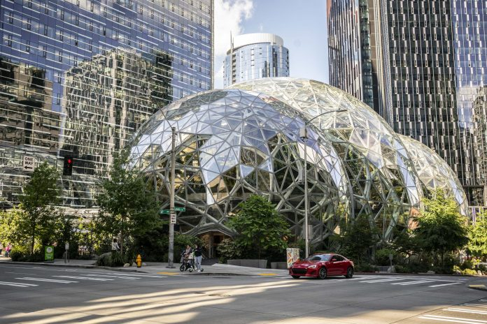 Amazon will let employees work remotely two days a week
