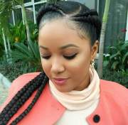 trendy braids cornrows styles
