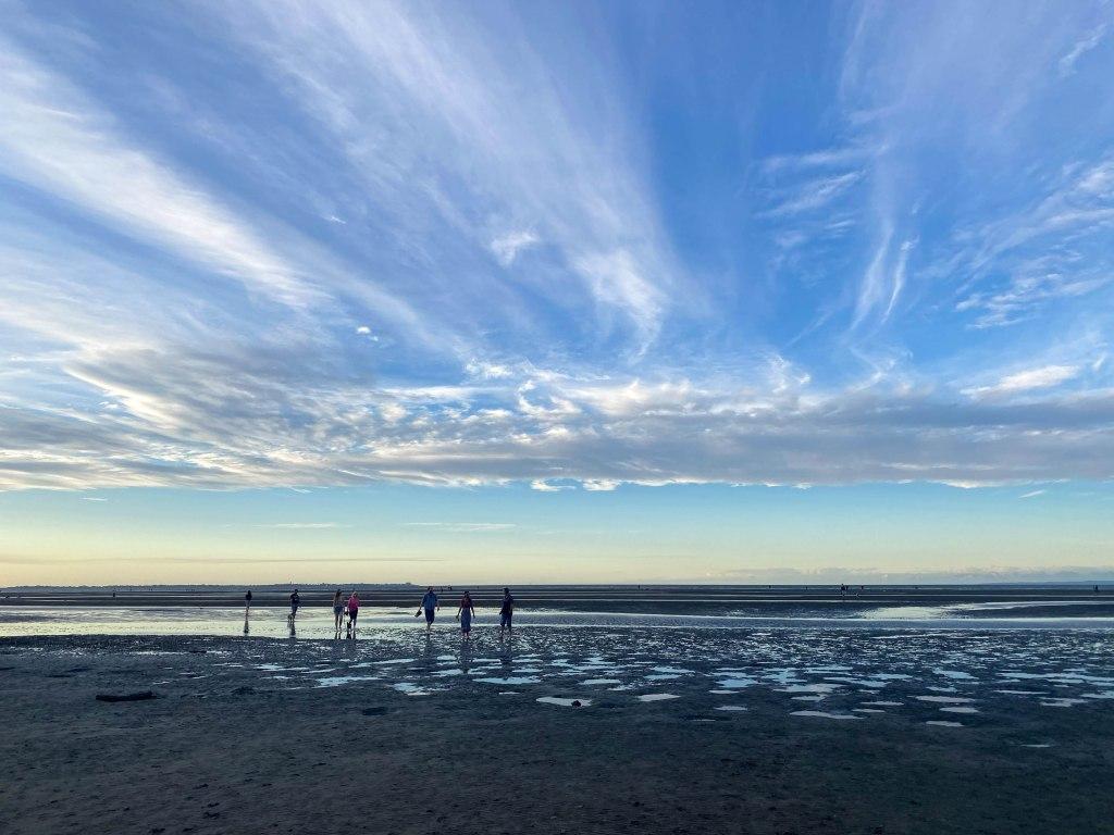 布里斯本遊記 Nudgee Beach 仙境般的鏡像海面與絕美夕陽 – Ekk's travel