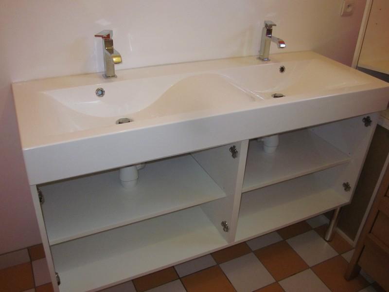 Pose Du Meuble Double Vasque De La Salle De Bain Notre Deuxieme Maison Mikit