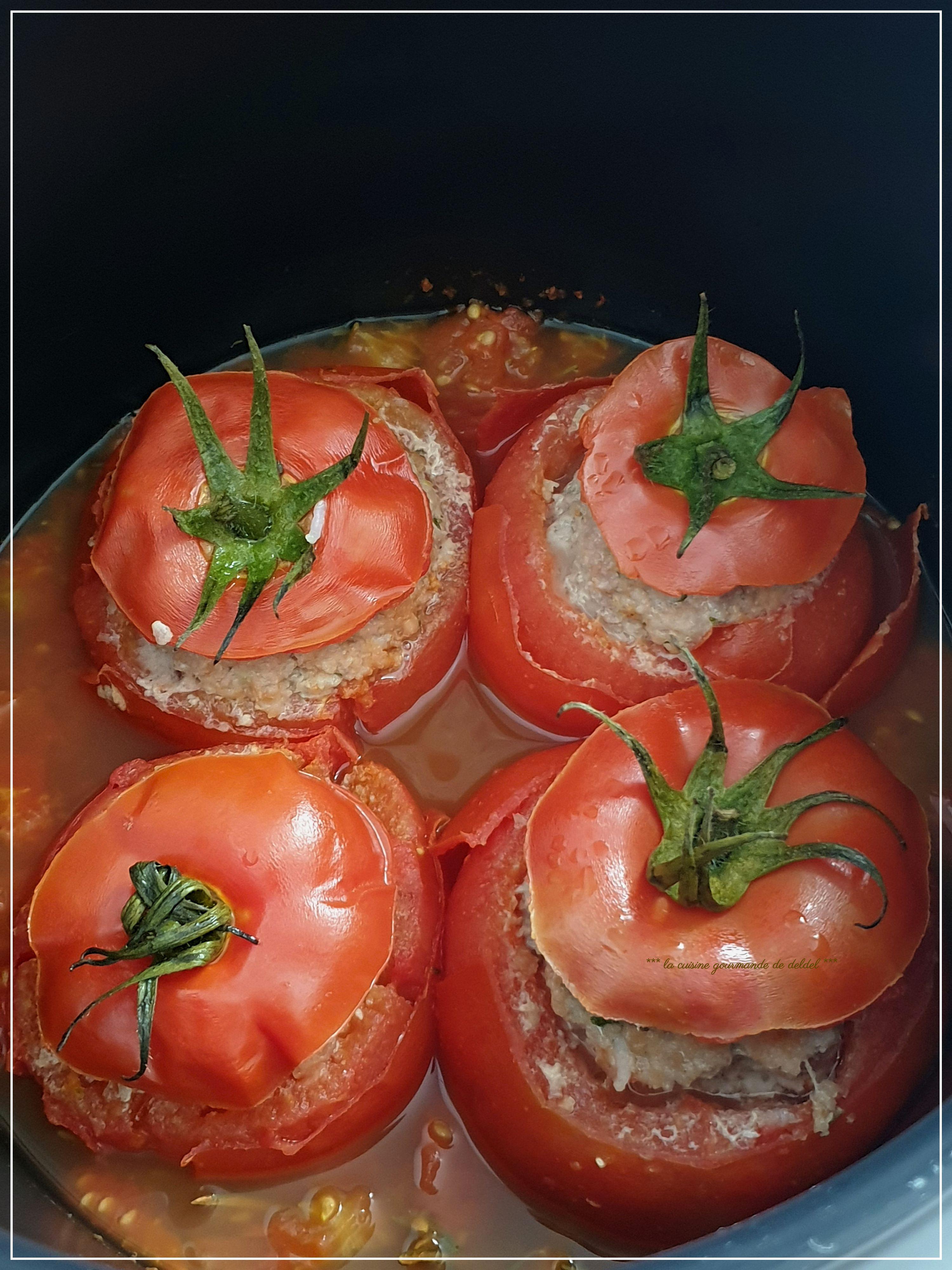 Congeler Des Tomates Farcies : congeler, tomates, farcies, TOMATES, FARCIES, COOKEO, Cuisine, Gourmande, Deldel