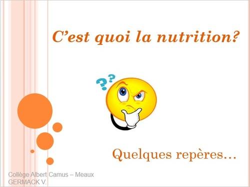 Projet Nutrition