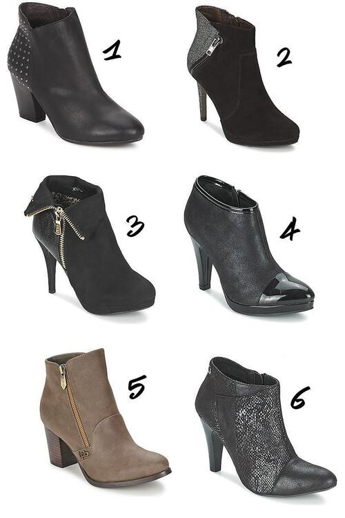 Ma petite selection de bottines