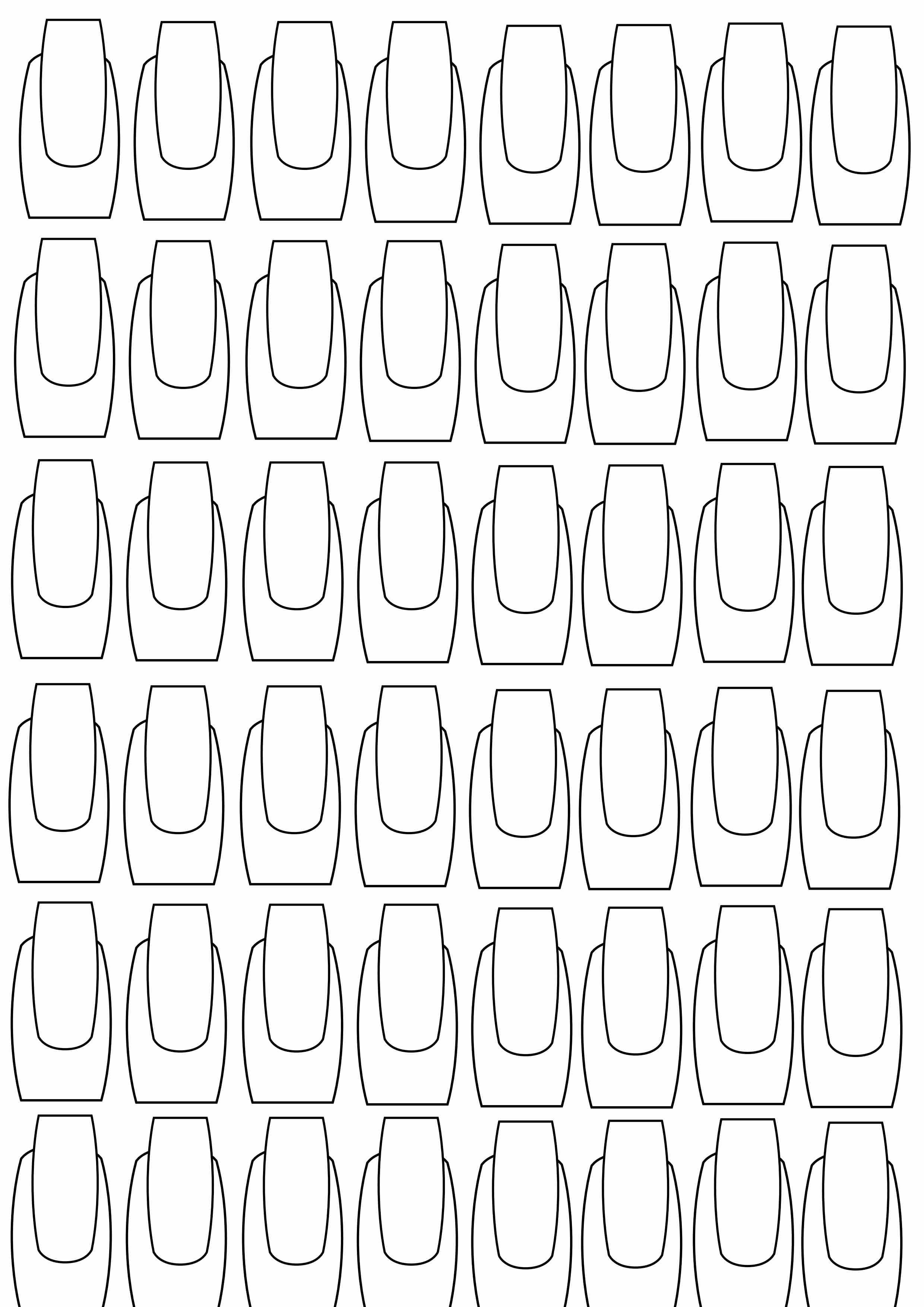 Planche Entrainement Nail Art