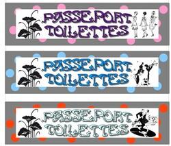 passeport pour toilettes  Lcole de petite Prune