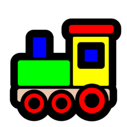 Le train des jours de la semaine