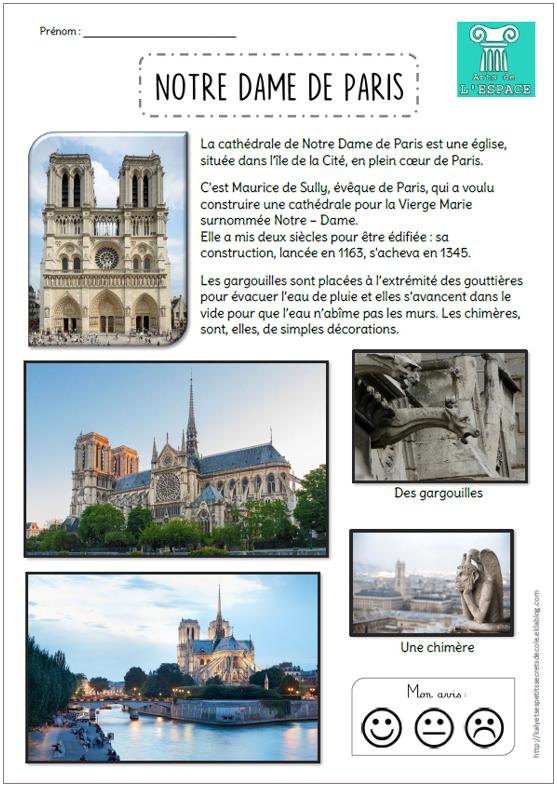 Notre Dame De Paris Histoire Des Arts : notre, paris, histoire, L'espace, Notre, Paris, Petits, Secrets, D'école
