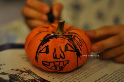Décoration de courges pour Halloween ou pour le plaisir