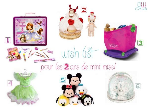 wish liste anniversaire