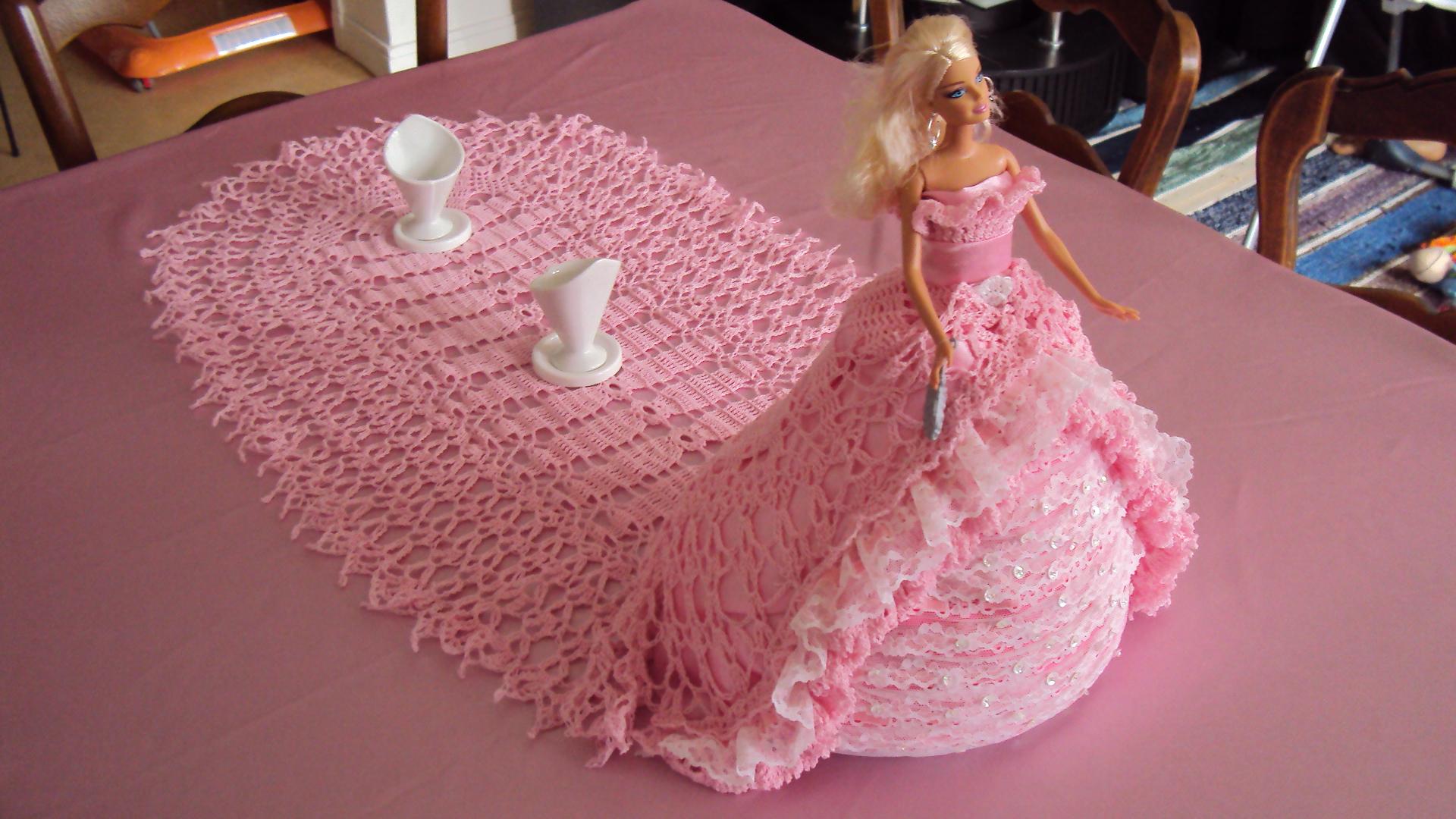 Robe De Marie Princesse Avec Longue Couleur Rose Traine