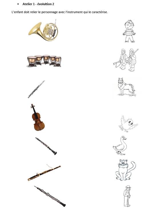 Pierre Et Le Loup Instruments : pierre, instruments, Pierre, Version, Cartable, Ouvert