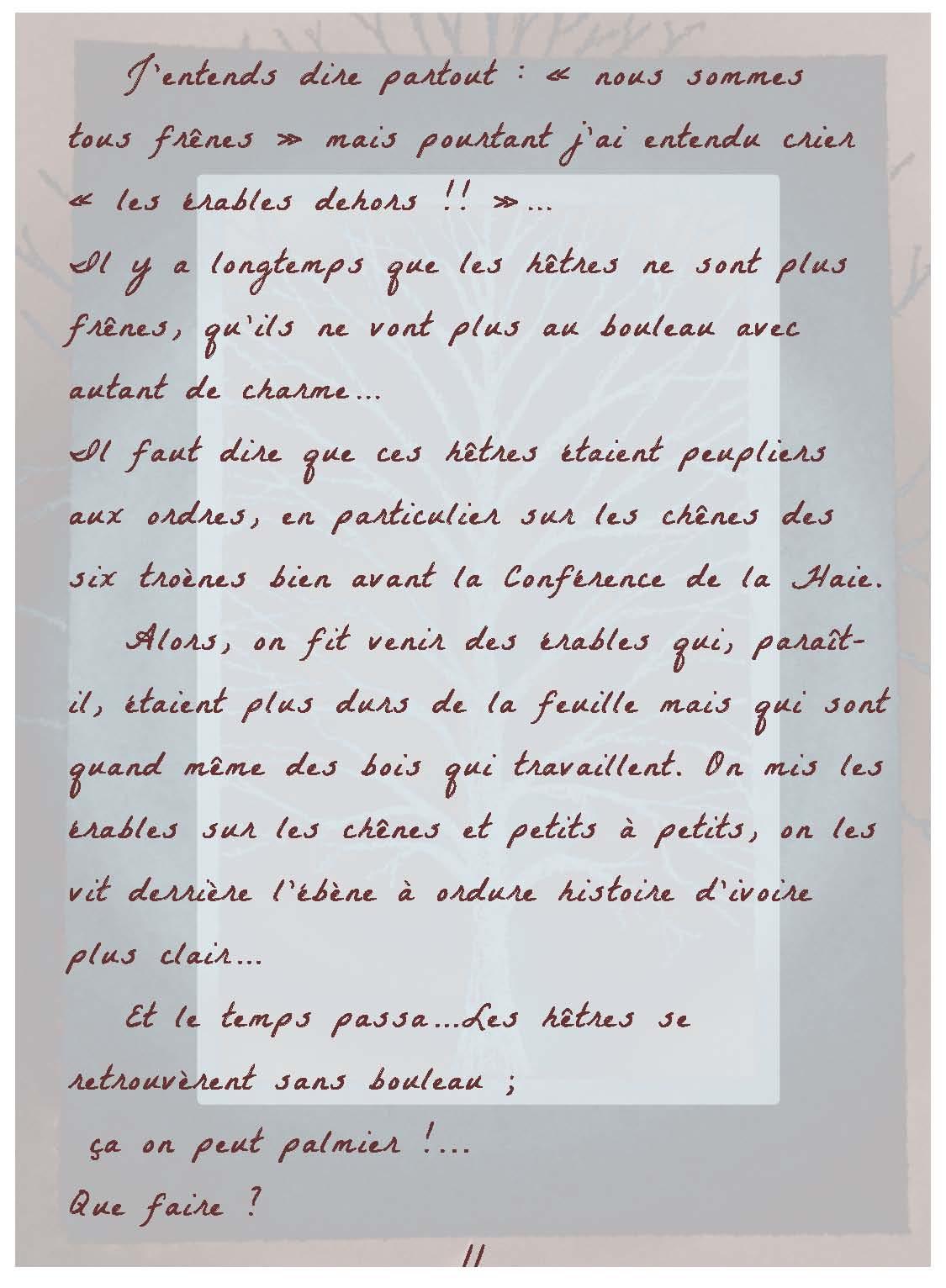Lettre D'adieu à Sa Famille : lettre, d'adieu, famille, Lettre, D'adieu, Quercus, Bipèdes, Humanoïdes, Lutineries, ADAMS