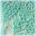 Rustic Lace Square