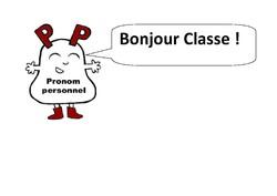 Les pronoms personnels: Diaporama