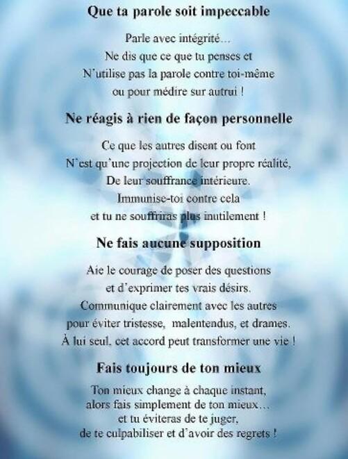 Que Ta Parole Soit Impeccable : parole, impeccable, PAROLE, IMPECCABLE!, OASIS, LUMIÈRE, BIENVENUE!