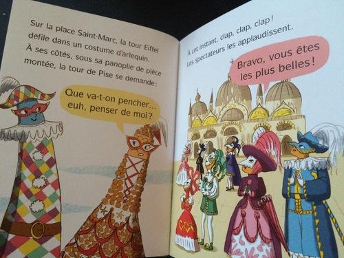Chut les enfants lisent : La Tour Eiffel en Italie