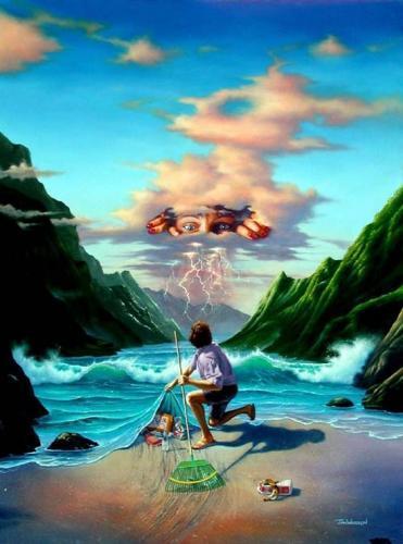 PDF  « Assis sur le rebord du monde », Francis Cabrel