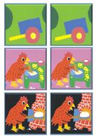 La petite poule rousse-Le pain