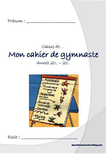 Cahier du gymnaste