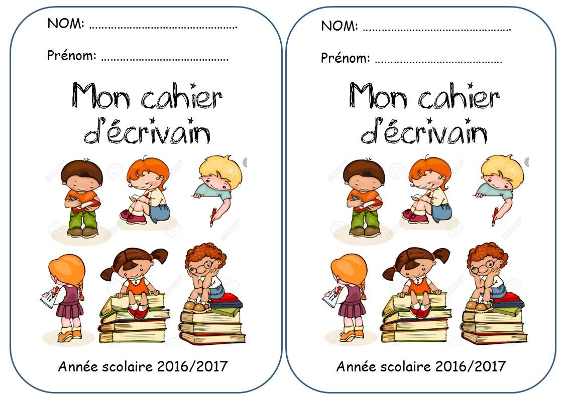CAHIER DECRIVAIN La Classe De Corinne