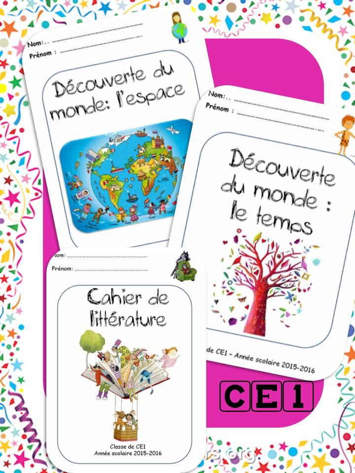 Page De Garde Cahier De Littérature : garde, cahier, littérature, Outils, (page, Classe, Corinne