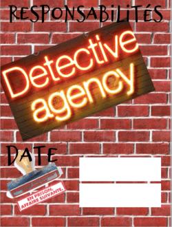 Thème de rentrée : Les détectives !