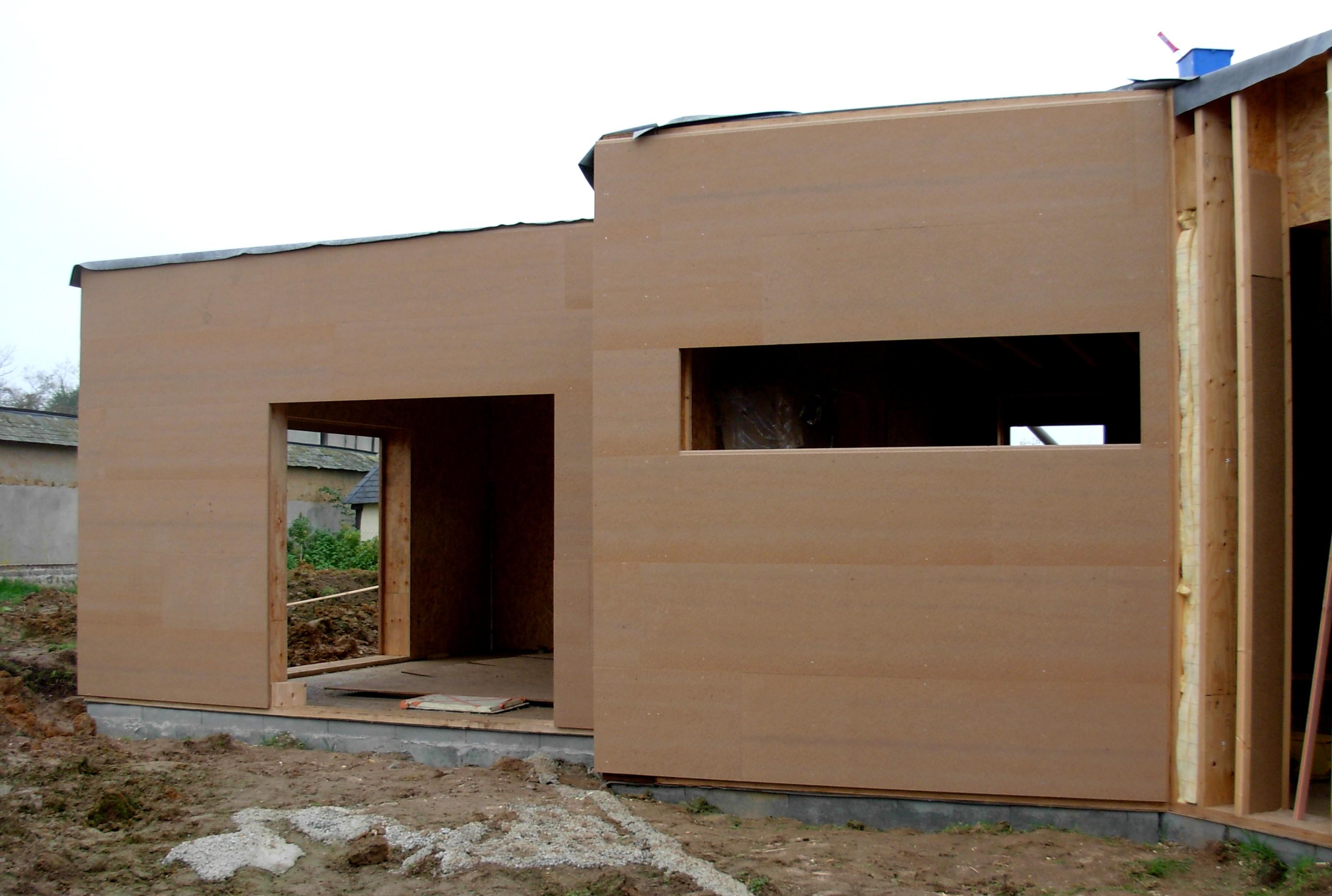 Isolation exterieur pour maison ossature bois ventana blog - Isolation exterieure ossature bois ...
