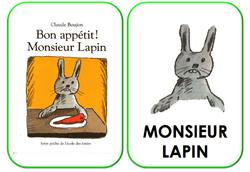 Bon appétit Monsieur Lapin- nouveaux documents