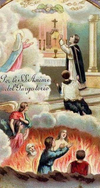 Priere Pour Les Ames Du Purgatoire : priere, purgatoire, Prière, âmes, Purgatoire, (Cette, Vieille, Plusieurs, Siècles), Chapelle