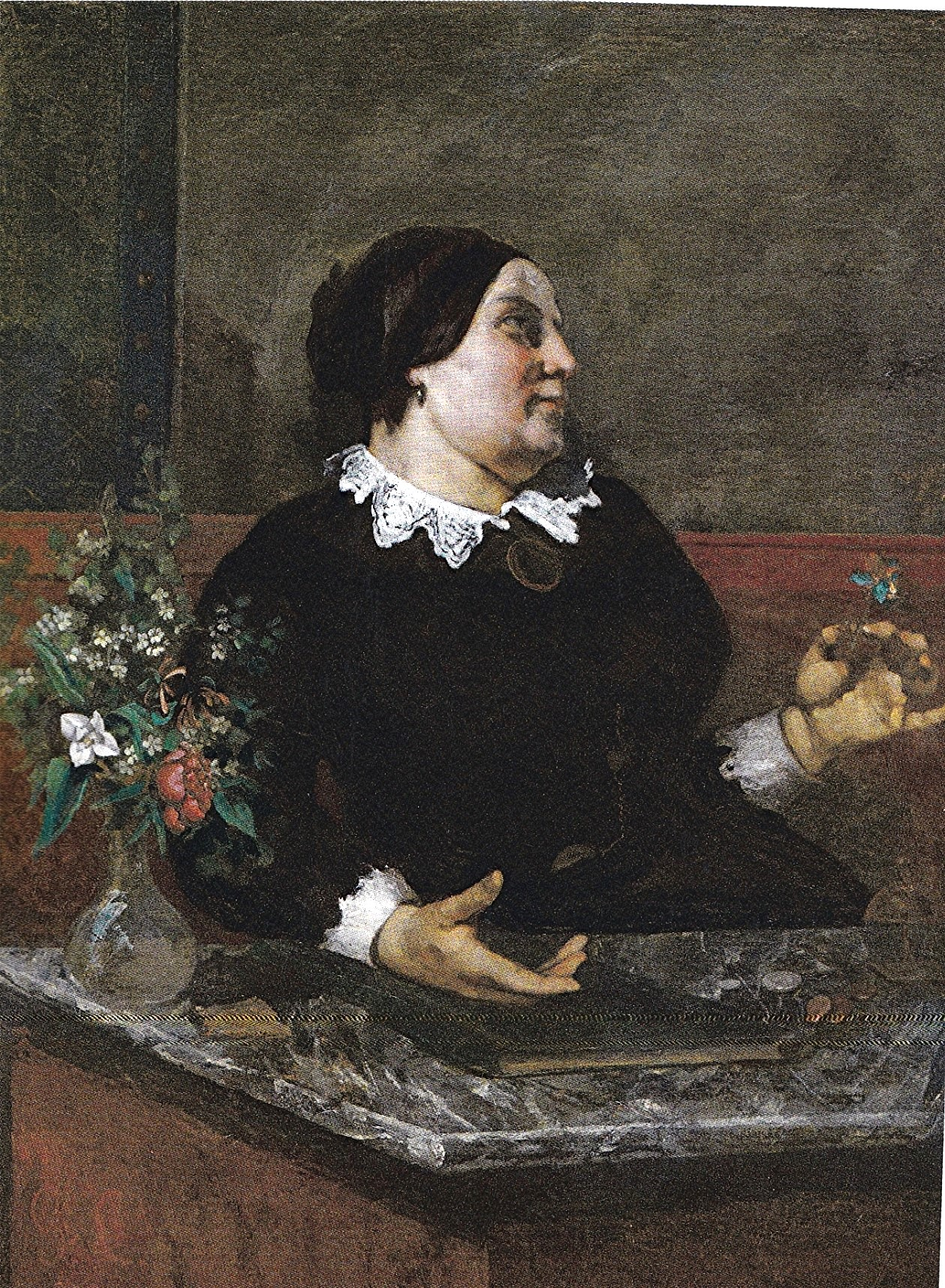 Les Demoiselles Des Bords De La Seine : demoiselles, bords, seine, Courbet, 1856-les, Demoiselles, Seine, Maîtres, Tableaux