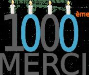 1 000 visiteurs