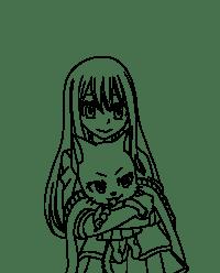 Coloriage Fairy Tale Dessin De Manga Fairy Tail Erza Dessin