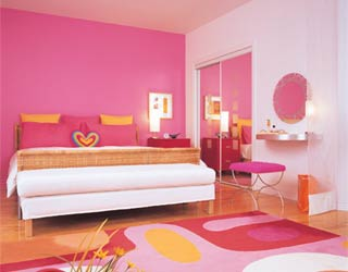 Chambre Fille Rose Et Taupe