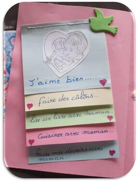 Une carte pour la fête des mamans : version Madel