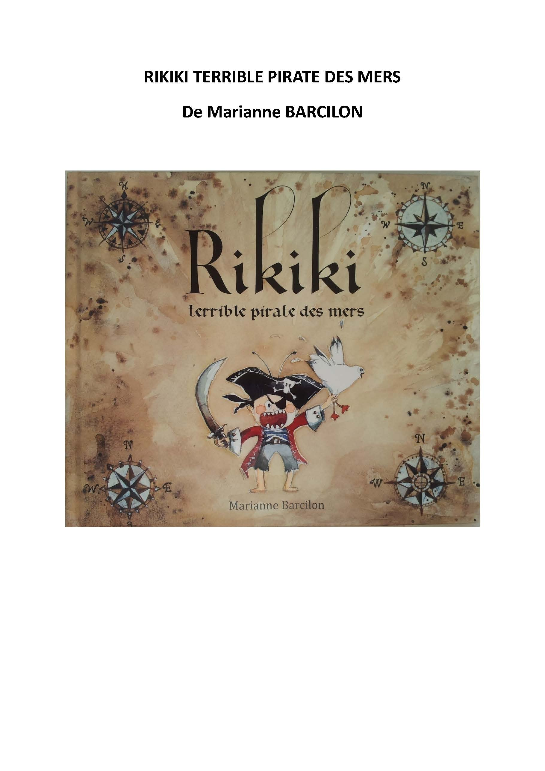 Rikiki Terrible Pirate Des Mers : rikiki, terrible, pirate, Tapuscrit, Rikiki, Terrible, Pirate, Maternelle-corbillon