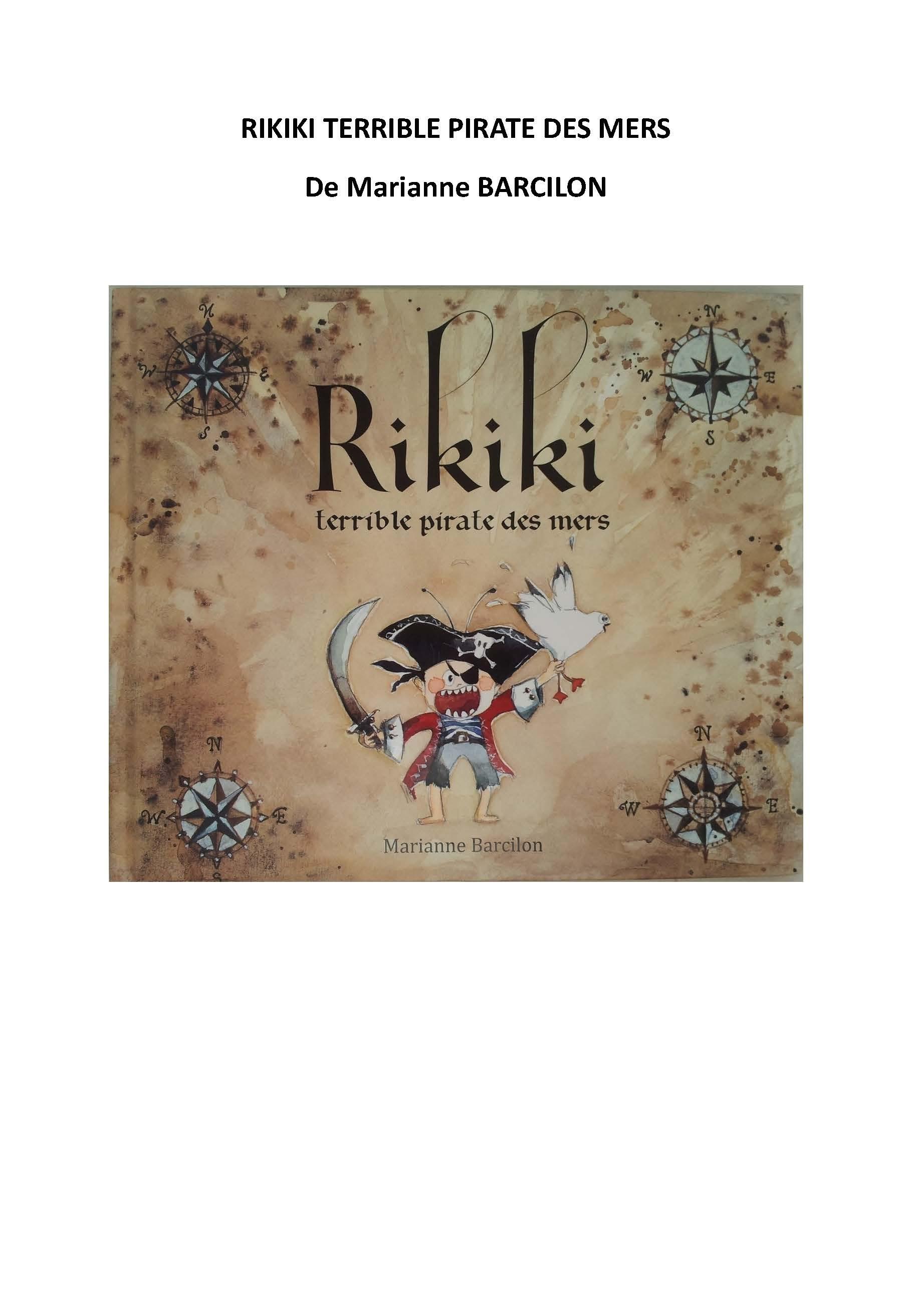 Rikiki Terrible Pirate Des Mers : rikiki, terrible, pirate, Tapuscrit, Rikiki, Terrible, Pirate, Maternelle-corbillon