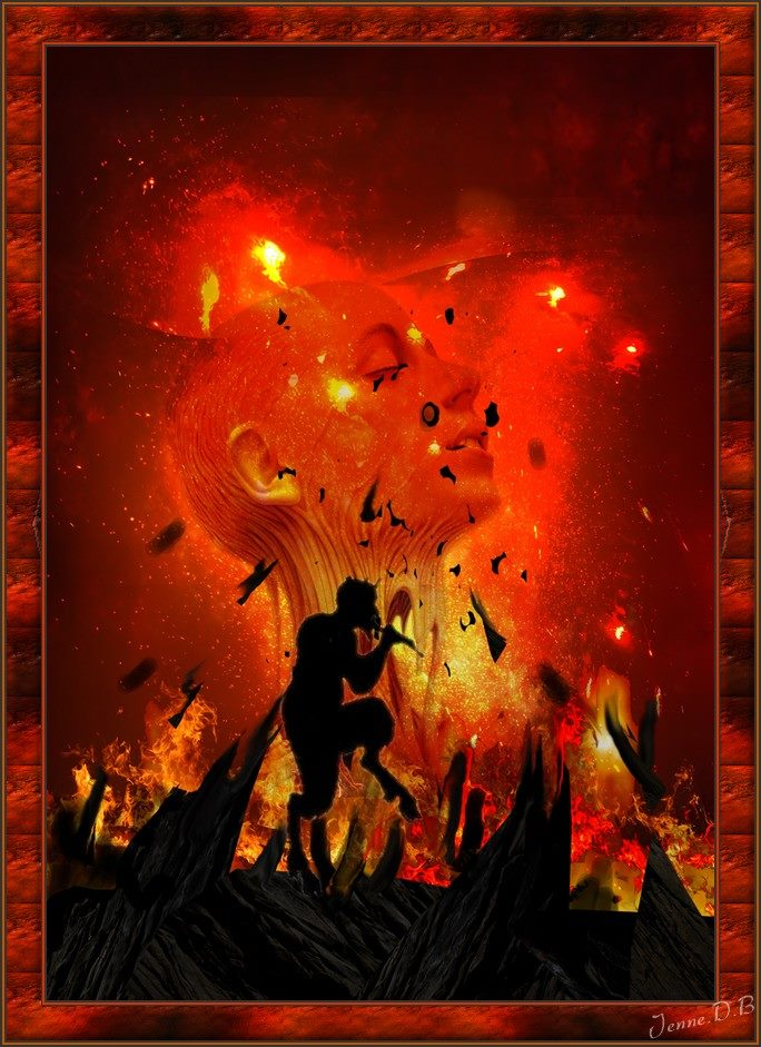 Les Flammes De L Enfer : flammes, enfer, Flammes, L'enfer, Uluru