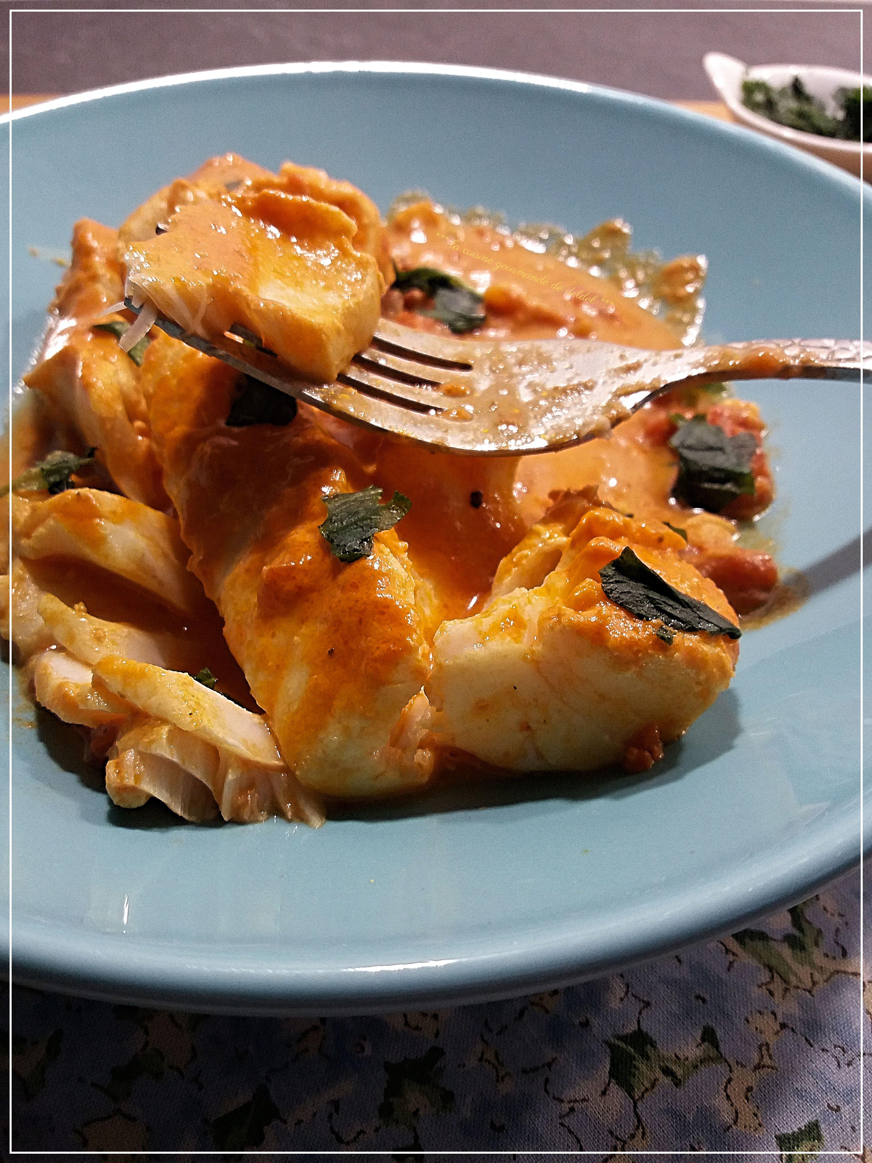 Dos De Cabillaud Au Curry : cabillaud, curry, CURRY, CABILLAUD, COOKEO, Cuisine, Gourmande, Deldel
