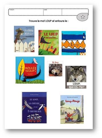 Un Loup Dans Le Potager : potager, Potager, Classeurs, Maternelle, Céline